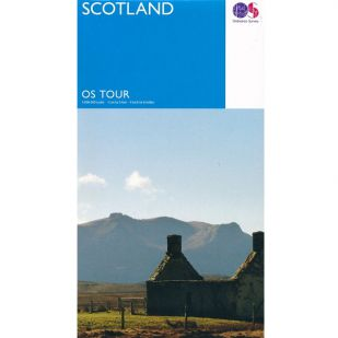 Scotland OS Tour Map