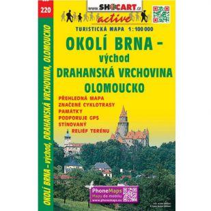 Shocart nr. 220 - Okoli Brna - vychod, Drahanska vrch.