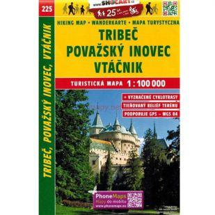 Shocart nr. 225 - Tribec, Povazsky inovec, Vtacnik