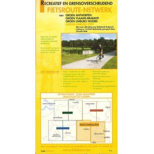 Fietskaart Sportoena 8 - Groen Limburg Zuid !