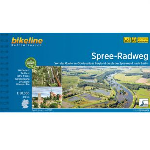 Spree Radweg - Bikeline Fietsgids (2020)