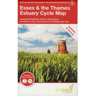 9. Essex & the thames Cycle Map