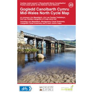 23. Mid-Wales North Cycle Map !