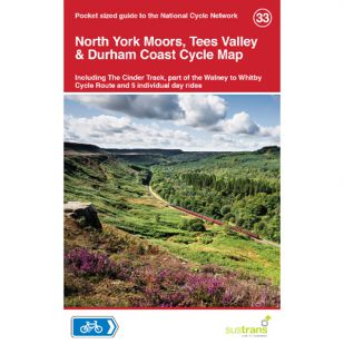 33. North York Moors, Tees Valley & Durham Coast Cycle Map