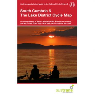 31. South Cumbria & The Lake District Cycle Map