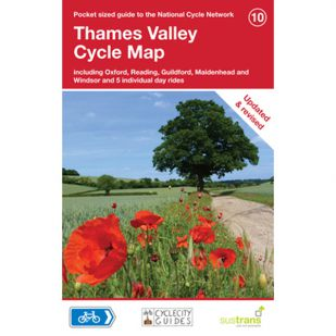10. Thames Valley (Londen-Oxford) Cycle Map !