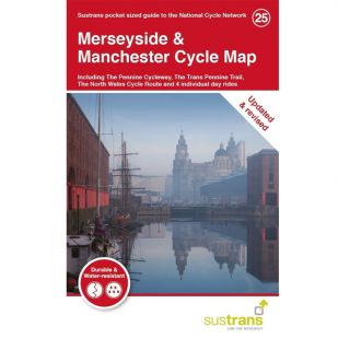 25. Merseyside & Manchester Cycle Map !