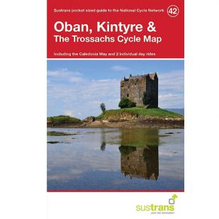 42. Oban, Kintyre & The Trossachs Cycle Map