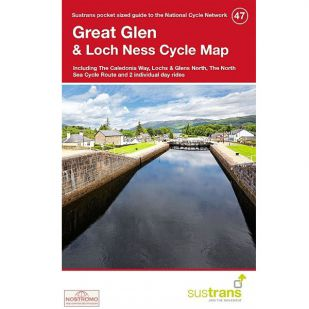 47.  Great Glen & Loch Ness Cycle Map