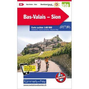 Bas-Valais Sion Velokarte 20