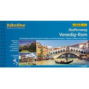 Venedig - Rom Bikeline fietsgids