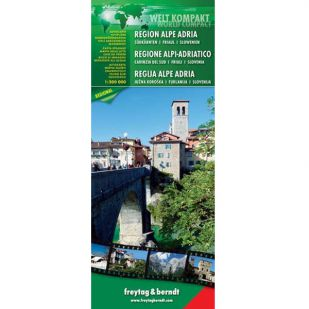 F&B Wegenkaart Regio Alpe Adria - World Compact