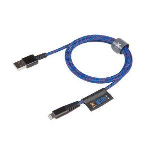 Xtorm Solid Blue Lightning USB kabel voor Apple (CS020)