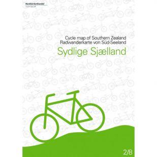 Zuid-Seeland (DK)  fietskaart