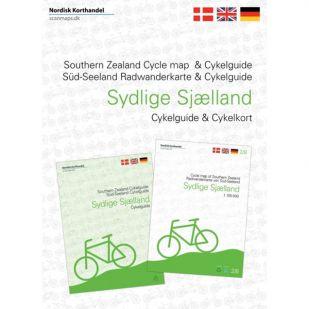 Zuid-Seeland (DK)  fietskaart en -gids