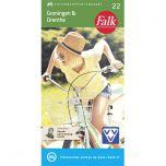 Falk Fietsknooppuntenkaart 22: Groningen & Drenthe