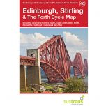 40. Edinburgh, Stirling & The Forth Clyde Cycle Map