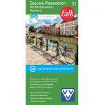 Fietskaart 31 Zeeuws Vlaanderen (2019) !