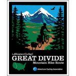 VS - Great Divide Mountain Bike Route (6 kaarten)