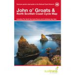 48. John O'Groats & the North Scottish Coast Cycle Map