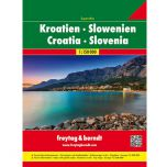 F&B Kroatië Slovenië Superatlas - 1:150.000 !