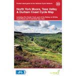 33. North York Moors, Tees Valley & Durham Coast Cycle Map