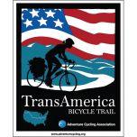 VS - Transamerica Bicycle Trail (12 losse kaarten)