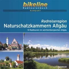 Radreiseregion Naturschatzkammern Allgäu Bikeline Kompakt fietsgids